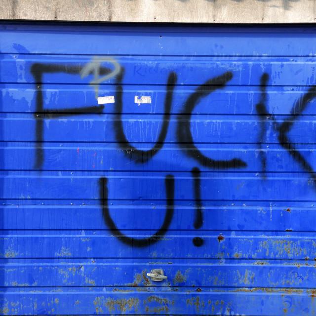 """Graffiti ."" stock image"