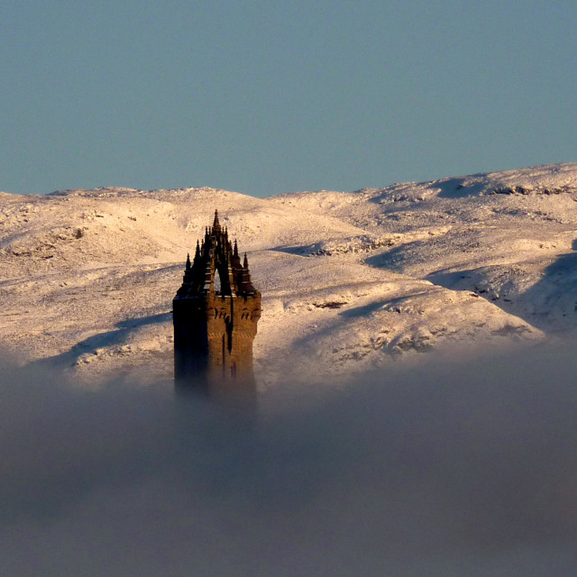 """""""Wallace Monument"""" stock image"""