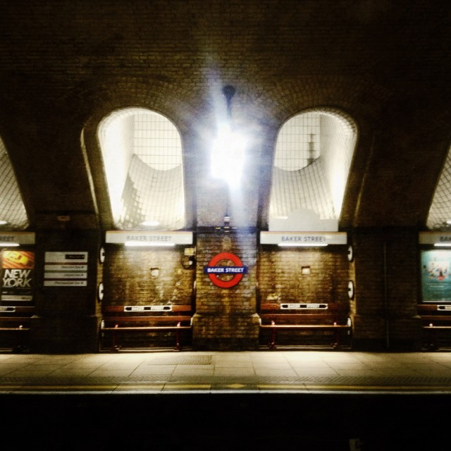 """Underneath London"" stock image"