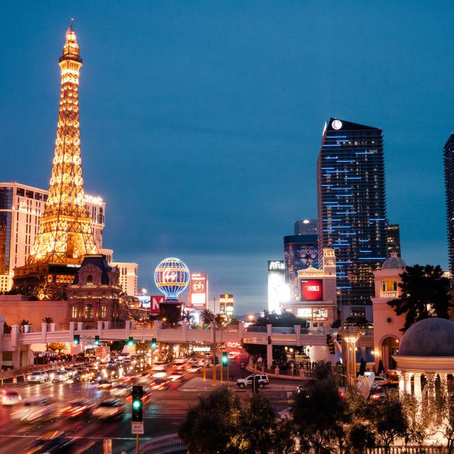 """""""Vegas!"""" stock image"""