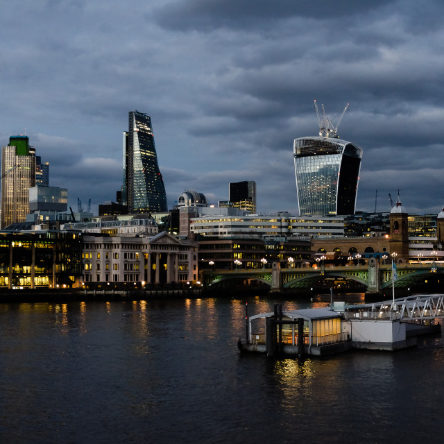"""The City of London"" stock image"