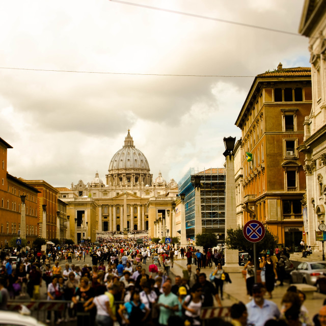 """""""St Peter Watching"""" stock image"""