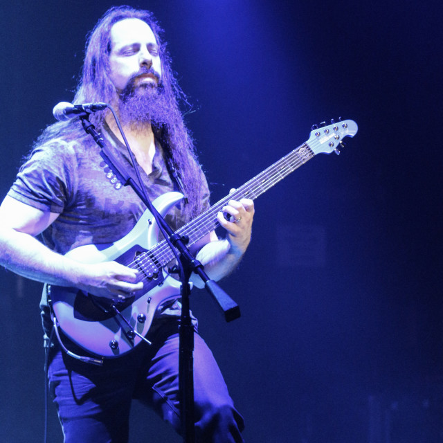 """Dream Theater live - John Petrucci"" stock image"