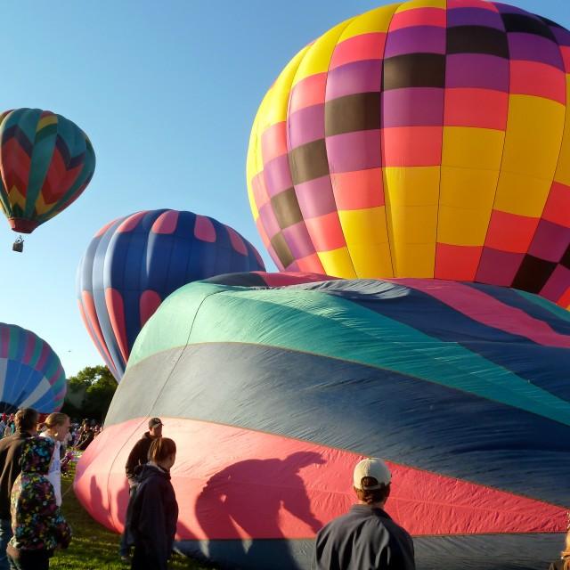 """Hot Air Balloon Festival"" stock image"