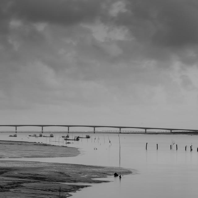 """Seudre bridge"" stock image"