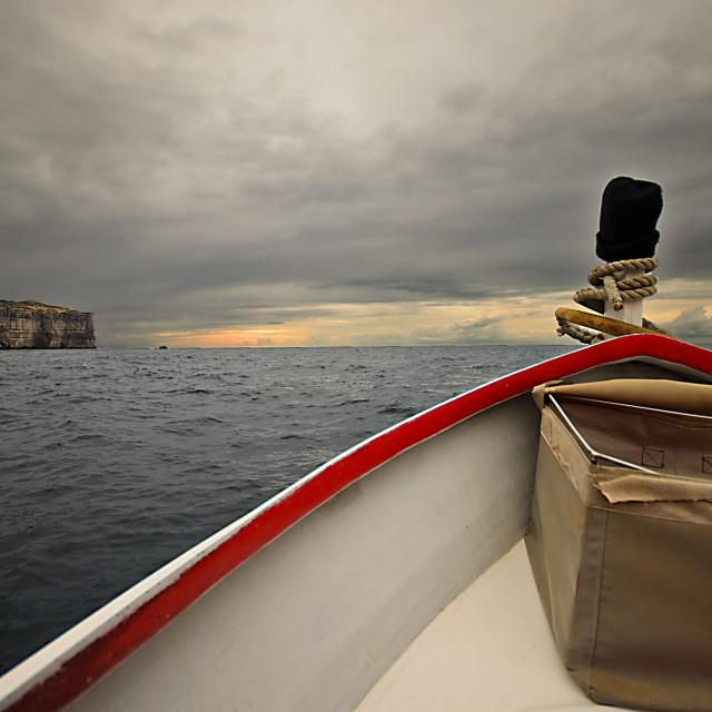 """""""Dawn at Sea"""" stock image"""