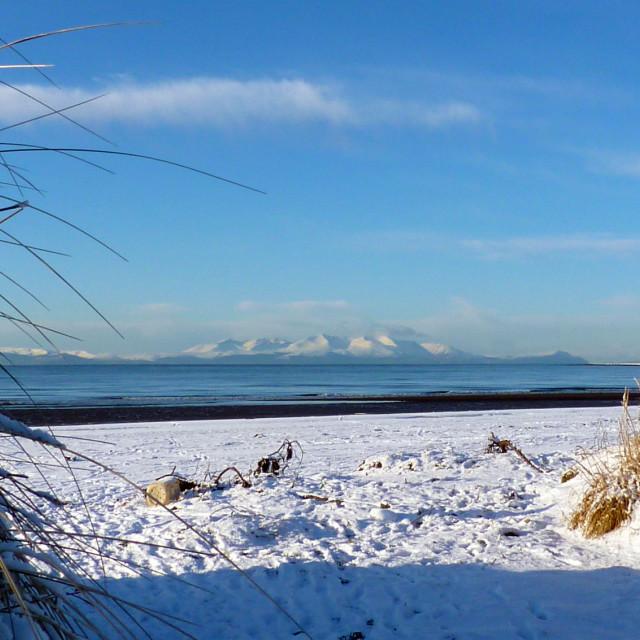 """Majestic Isle of Arran"" stock image"