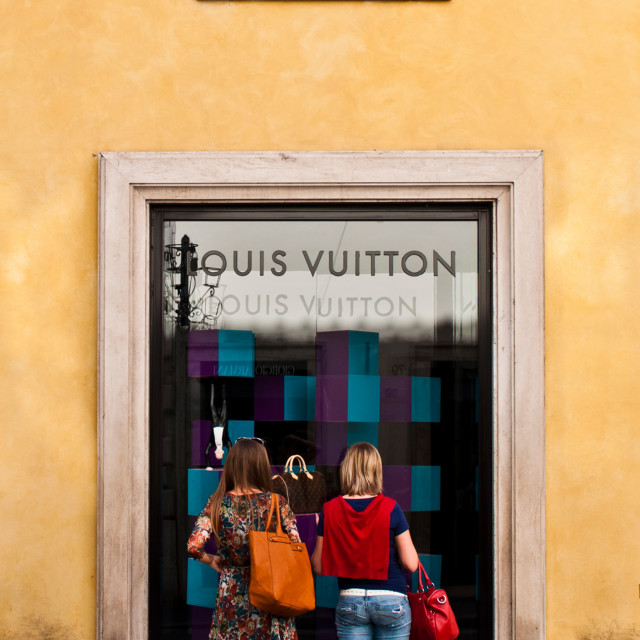 """Louis Vuitton store"" stock image"