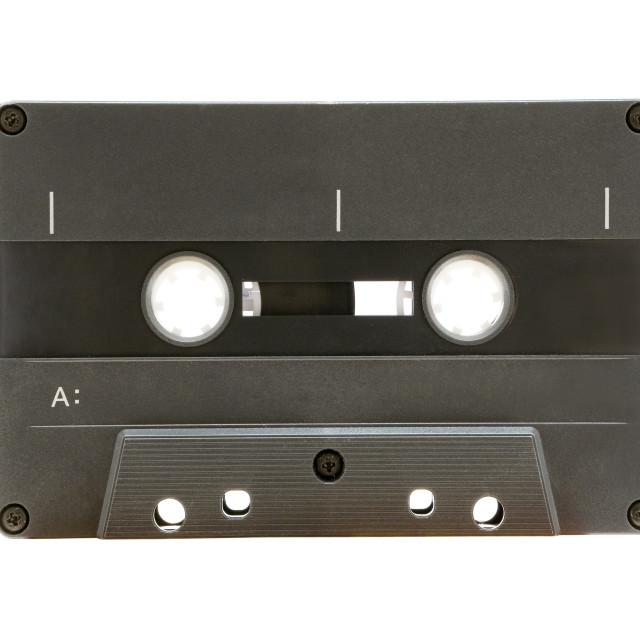 """""""Grey Audio Tape"""" stock image"""