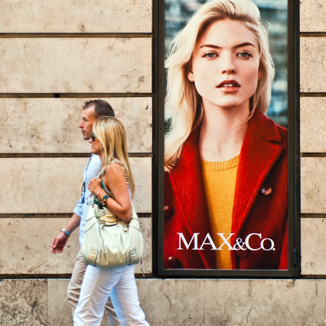 """""""Max & Co. store"""" stock image"""