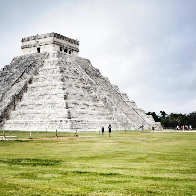 """chichen itza"" stock image"