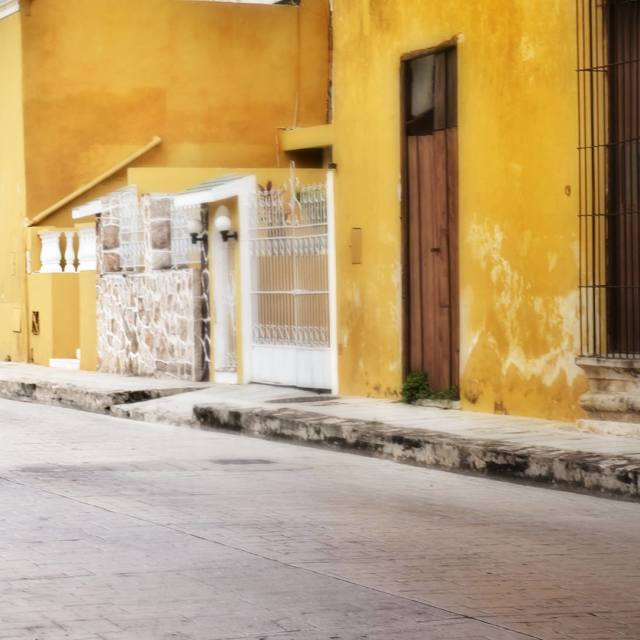 """Izamal, Mexico"" stock image"