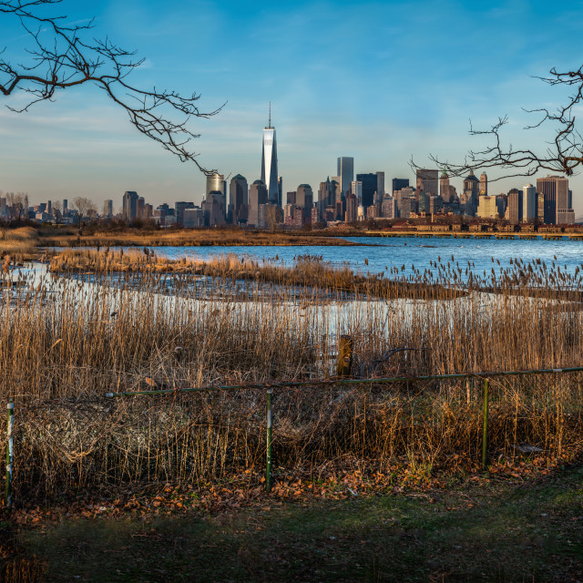 """Lower Manhattan Panorama"" stock image"