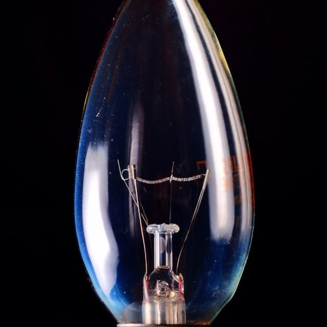"""Light bulb"" stock image"