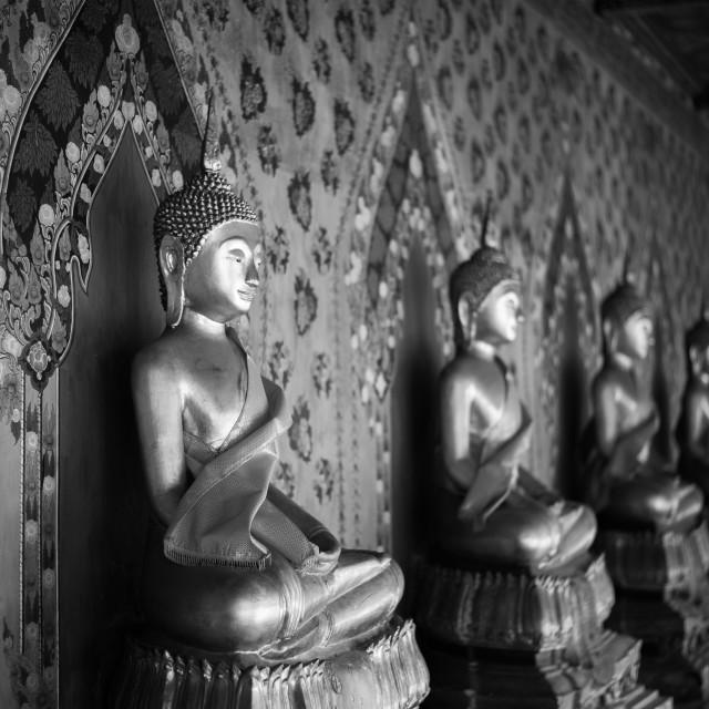 """""""Buddha Statue Pattern"""" stock image"""