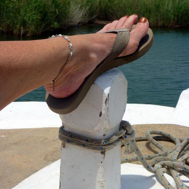 """Foot fashion"" stock image"