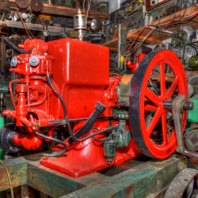 """""""Old Machinery"""" stock image"""