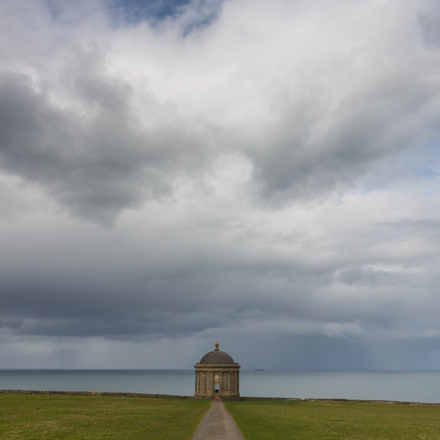 """""""Mussenden Temple"""" stock image"""