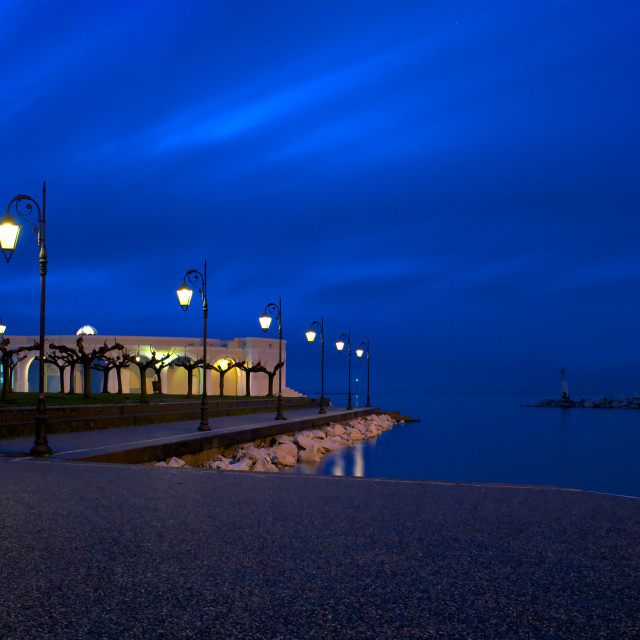 """""""Theatre by the sea"""" stock image"""