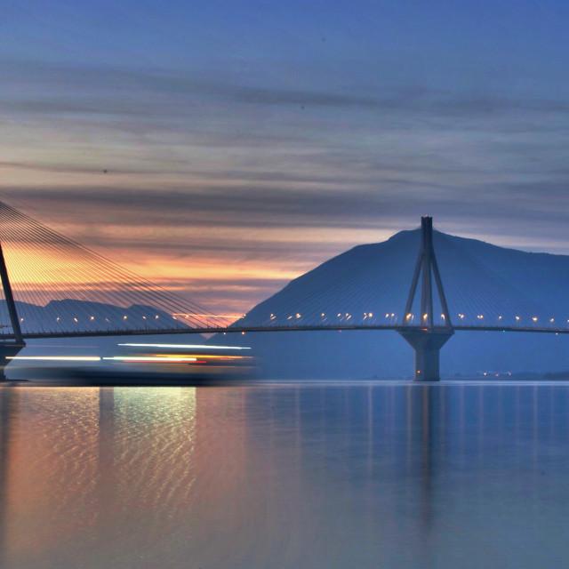 """Rio Antirrio Bridge"" stock image"