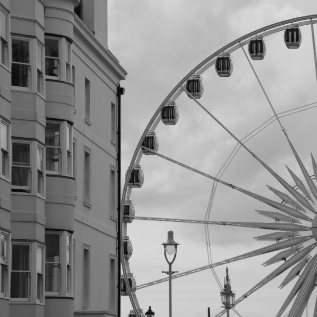 """Brighton Eye..."" stock image"