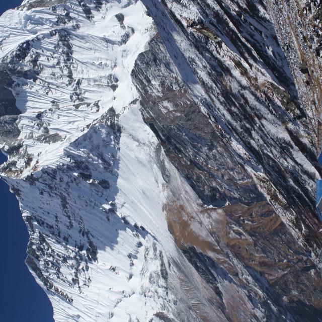 """Annapurna Camp"" stock image"