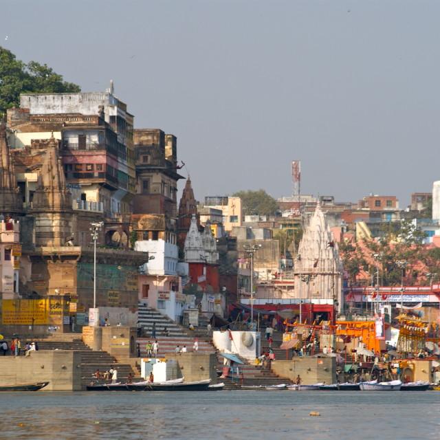 """Varanasi"" stock image"