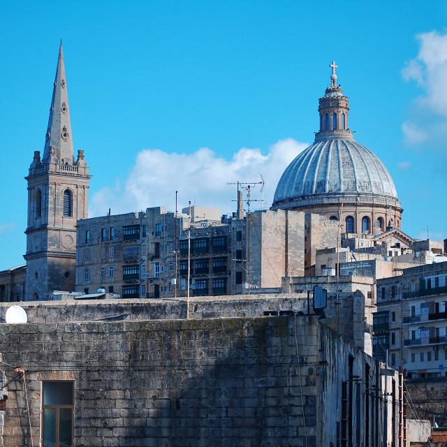 """Valletta City"" stock image"