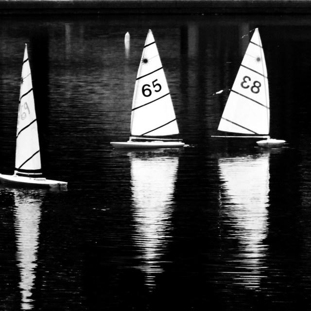 """Radio Boats"" stock image"