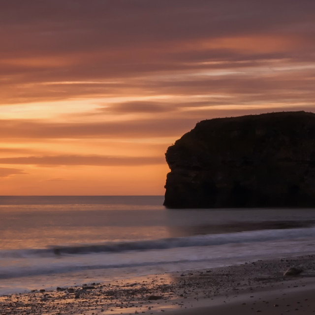 """Marsden Rock"" stock image"