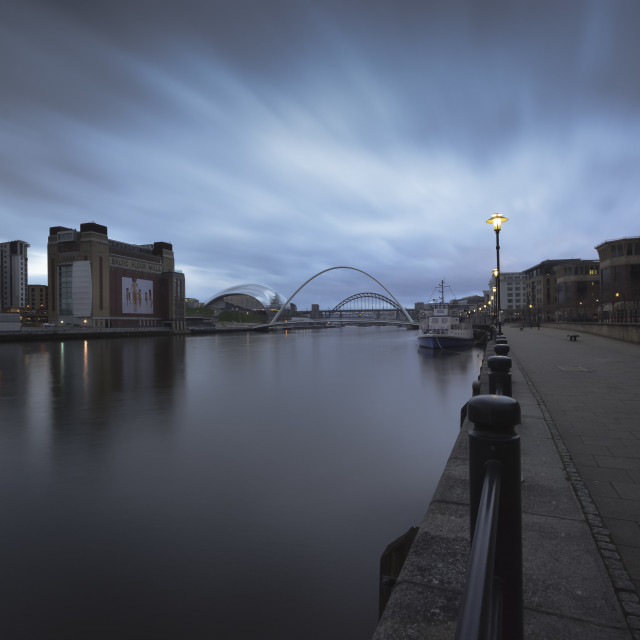 """The River Tyne"" stock image"