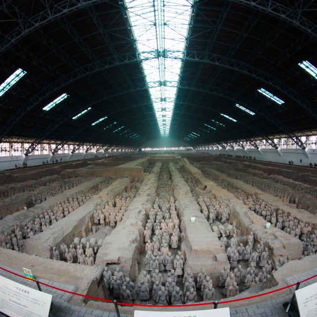 """The Terracotta Army"" stock image"