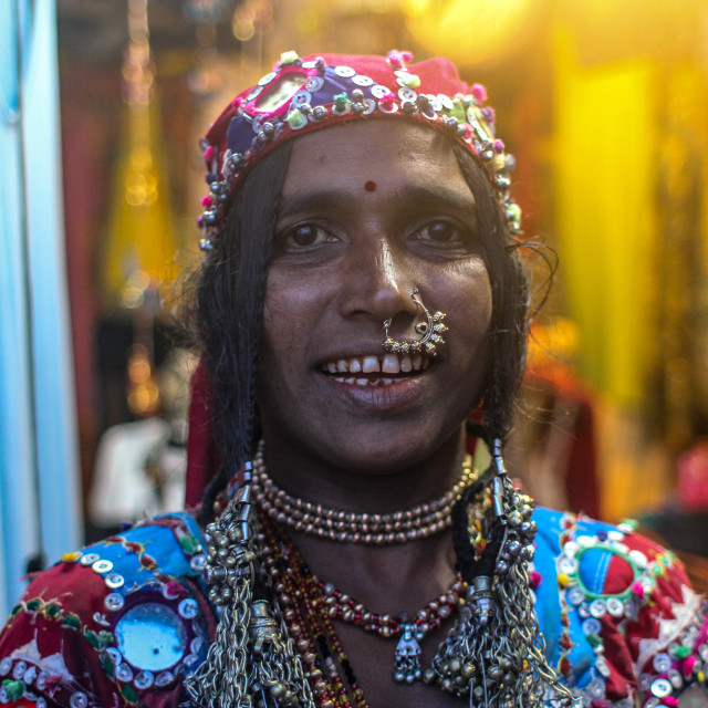 """Shop owner in India"" stock image"