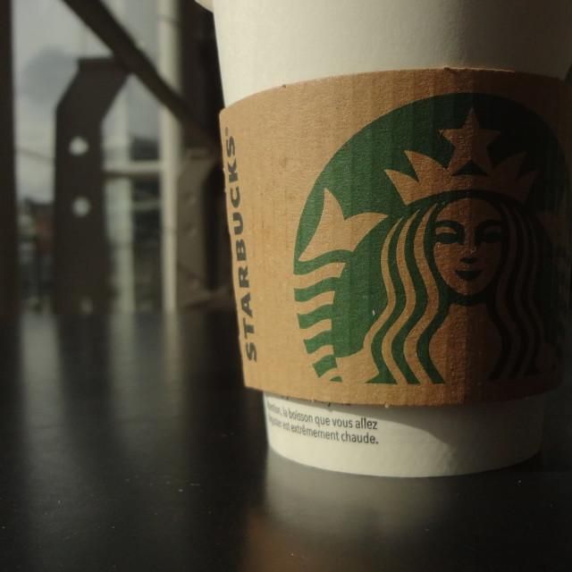 """Starbucks coffee"" stock image"