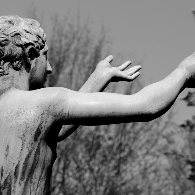 """Statue #2"" stock image"