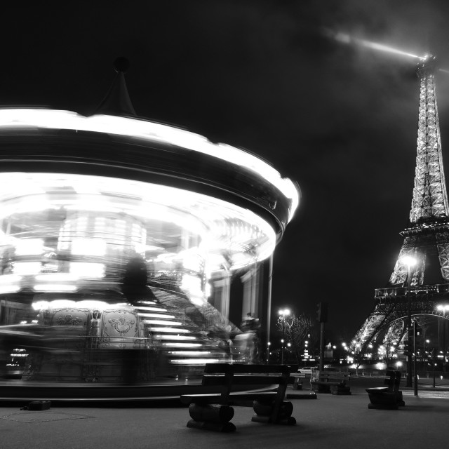 """fairground paris"" stock image"