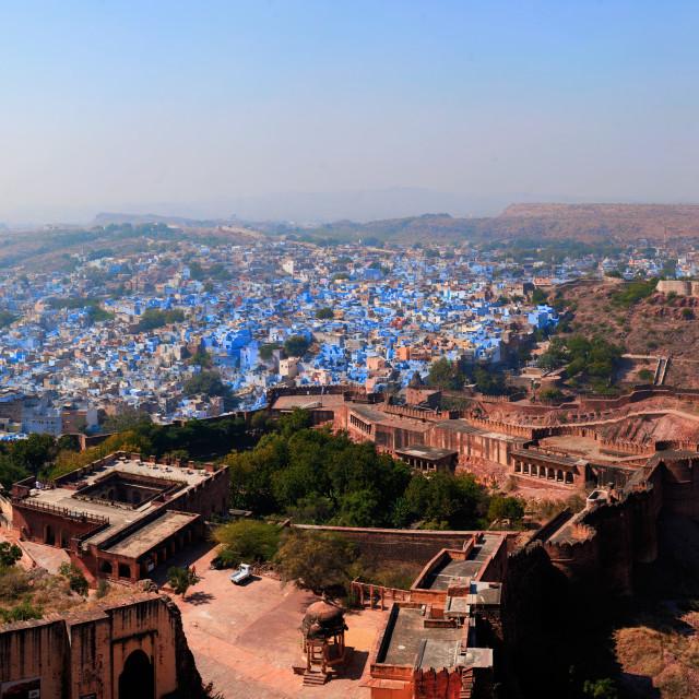"""""""Jodhpur Panorama"""" stock image"""