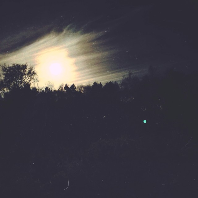 """Zombie Apocalypse Sky"" stock image"
