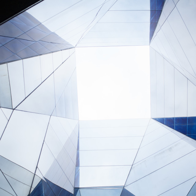 """Abstract skylight"" stock image"