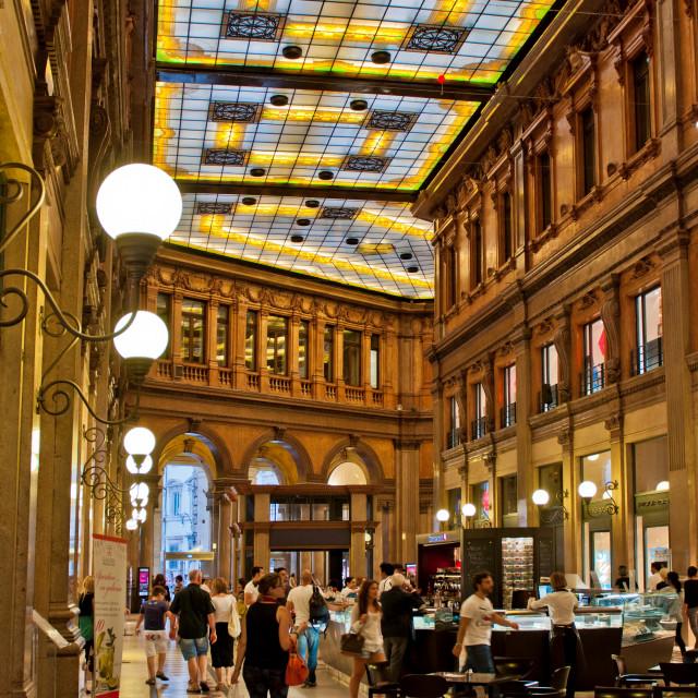 """Galleria Alberto Sordi"" stock image"