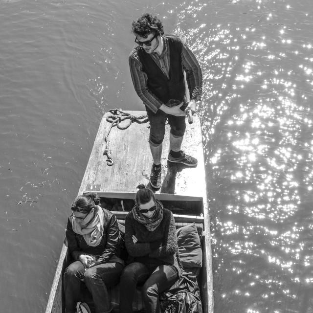 """raft in Cambridge"" stock image"