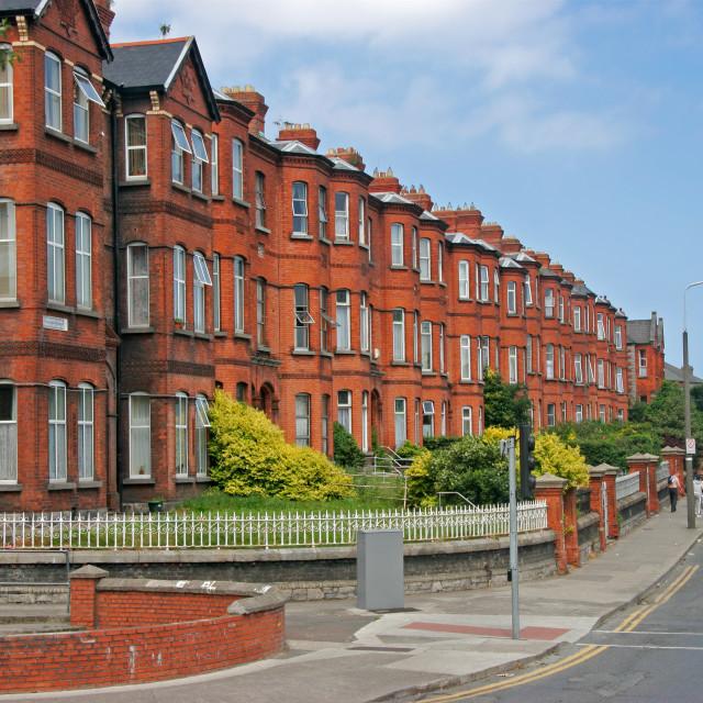 """Dublin residential apartment"" stock image"