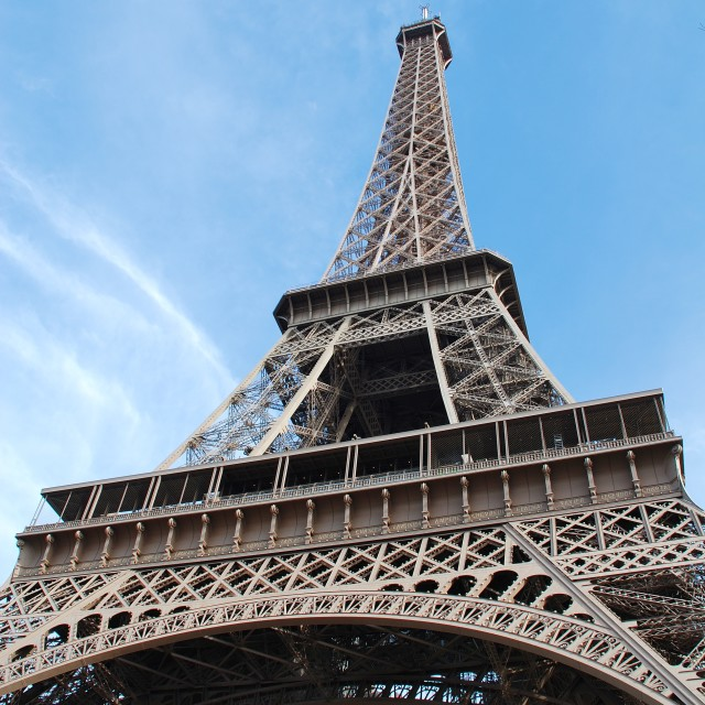 """The Eiffel Tower, Paris"" stock image"