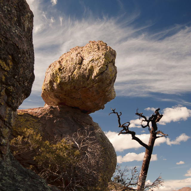 """Balancing Rock"" stock image"
