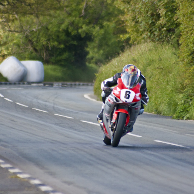 """Isle of Man TT"" stock image"