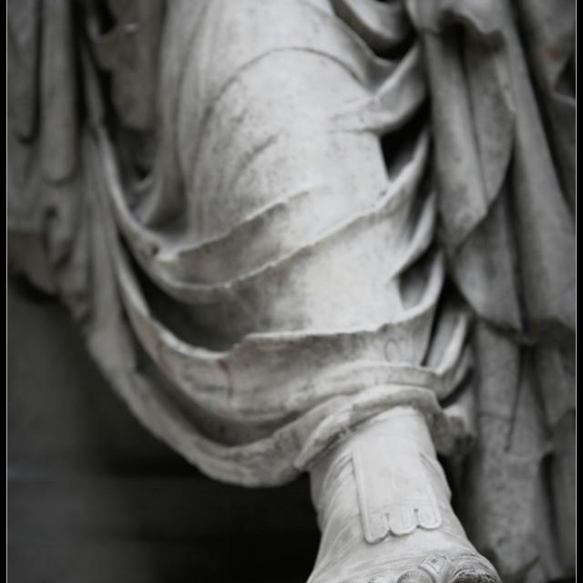 """Roman Foot"" stock image"