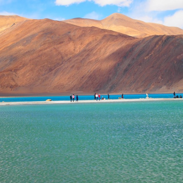 """Pangong Lake"" stock image"