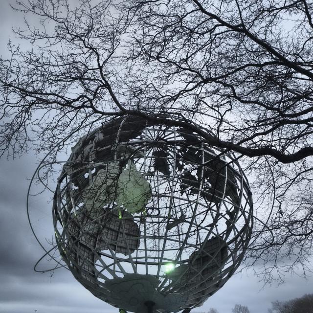 """""""The Unisphere"""" stock image"""