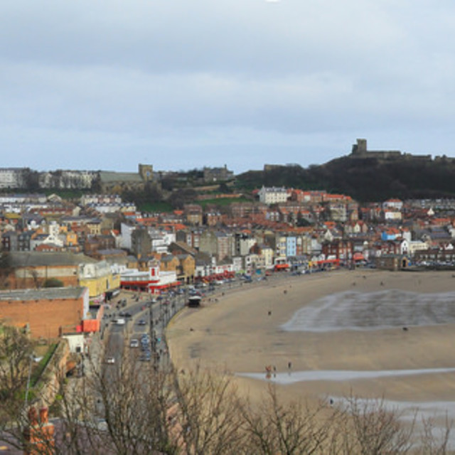 """Scarborough Panorama"" stock image"