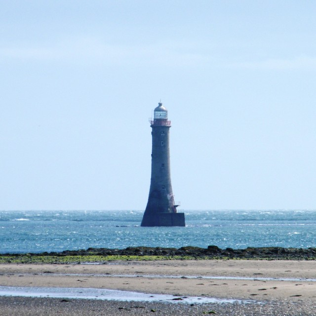 """Haulbowline Lighthouse"" stock image"